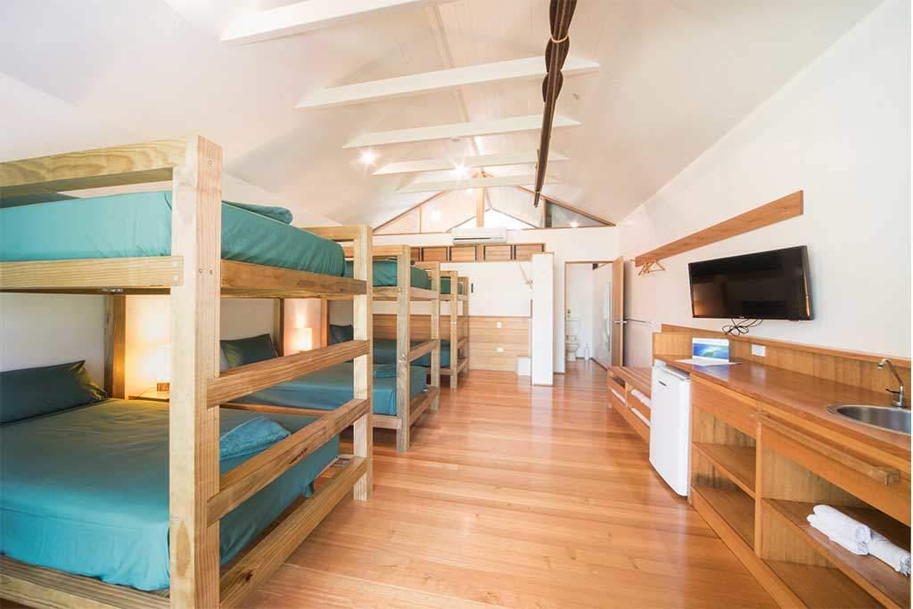 Shared Whitsundays accommodation room