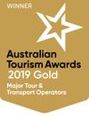 australian tourism awards gold 2019