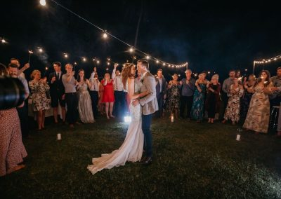 Bride and Groom first dance at wedding reception at Paradise Cove Resort in the Whitsundays